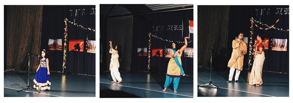 Народные индусские танцы и песни
