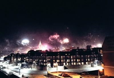 Fireworks in Nijmegen